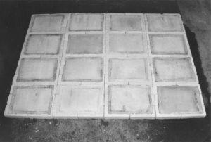 blaettergefaesse teilansicht, 2000, installation