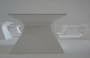 in räumen 1-17 teilansicht 2020 plexiglas/acryl auf holzträger 130 x 130 x 13 cm