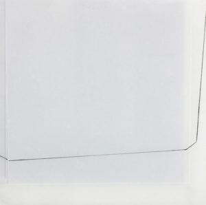 in räumen 2020 malerei-zeichnung emaille/acryl auf plexiglas 23 x 23 cm