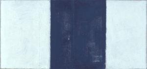 ohne titel 2-teilig 2000 oel auf holz 46 x 96 cm