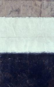 ohne titel 2000 oel auf papier 25 x 15,7 cm